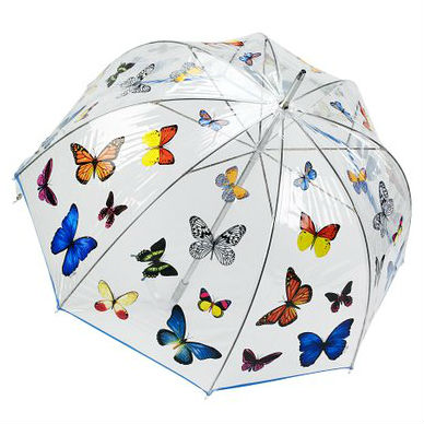 Bubble Butterflies Stick Umbrella