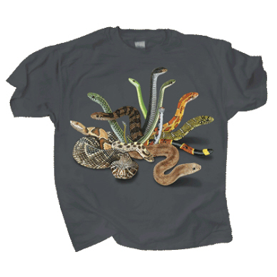 Snakes of North America T-shirt