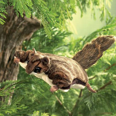 Flying Squirrel Puppet
